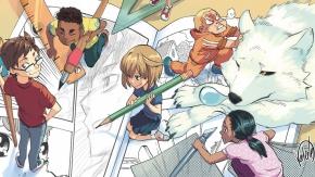 Echange Initiation dessin manga auRERS